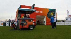 Mobile Marketing Unit + Cobra Golf Cube